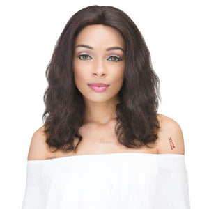 Janet Collection 100% Virgin Remy Hair Lace Front Wig - 360 LACE NATURAL WIG 14""