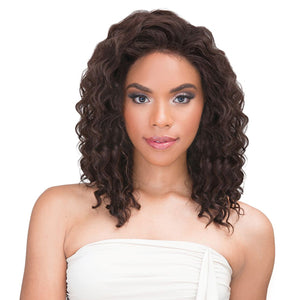 Janet Collection Natural Virgin Remy Human Hair Lace Frontal 360 Crown Closure - DEEP WAVE