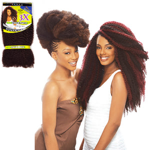 Janet Collection Noir 3X TRIPLE AFRO TWIST BRAID