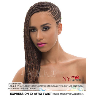 Janet Collection Expression 3X Afro Twist Braid