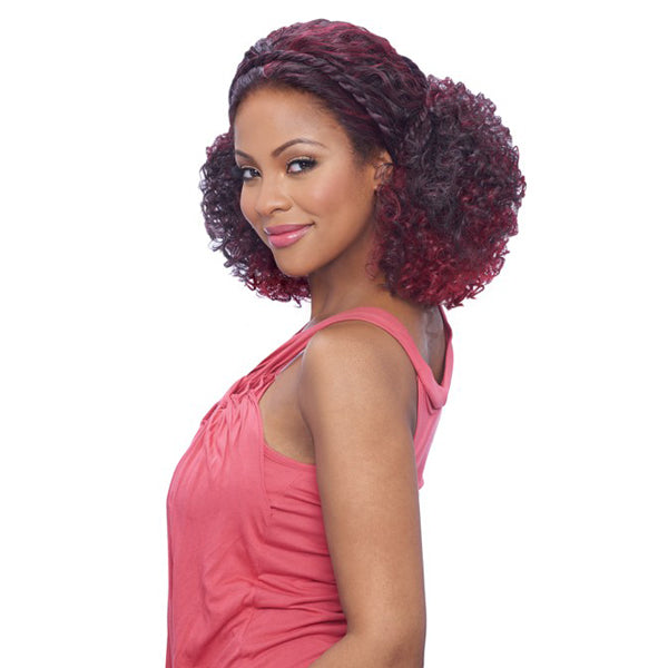 Vanessa Tops Braid Band Collection Synthetic Lace Front Wig - TBB ACTIVA