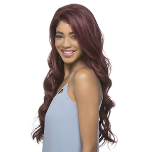 Vivica A Fox Synthetic Hair 360° All Around Deep Lace Front Wig - AIDEN