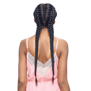 Vanessa Designer Lace Collection Tops Braid Deep Lace Front Wig - TBD APACHE