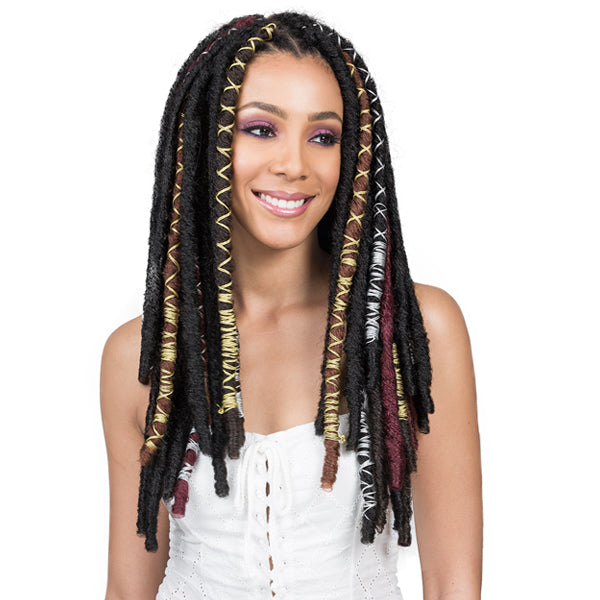 Bobbi Boss African Roots Braid Collection - BAE LOCS GOLD 20""