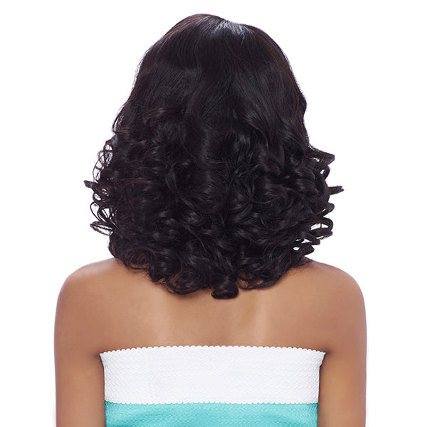 Harlem 125 Brazilian Natural Remy Hair Lace Front Wig  - BL004