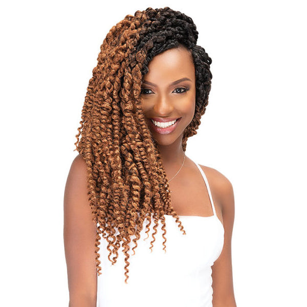 Janet Collection Nala Tress Synthetic Crochet Braid - BOHO TWIST BRAID 18""