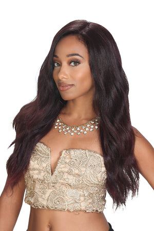 Zury Hollywood Sis Prime Human Hair Blend Swiss Lace Wig - PM LFP LACE BRADY