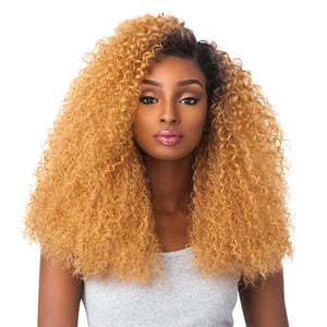 Sensationnel Boutique Bundles 6 Inch Part Custom Lace Front Wig - BRAZILIAN WAVE