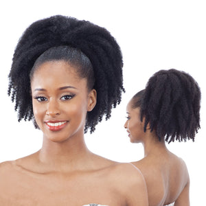 Freetress Equal Synthetic Drawstring Ponytail - Cuban Girl 12""
