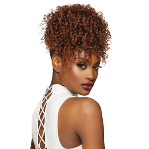 Outre Synthetic Drawstring Timeless Pineapple Ponytail - CUTIE