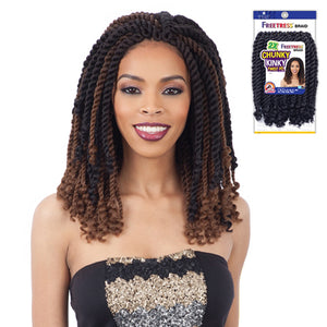 Freetress Synthetic Braid - 2X CHUNKY KINKY TWIST 10""