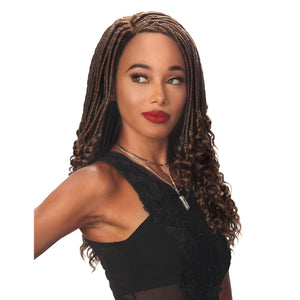 Zury Hollywood Sis Lace C - Part Synthetic Full Wig - LOC - ZURY DEEP CURL