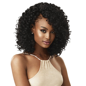 Outre X-Pression Curlette 4X Crochet Braiding Hair - DEEP ROD SET 8""