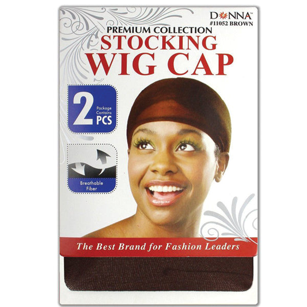 Donna Premium Collection Stocking Wig Cap 2pcs