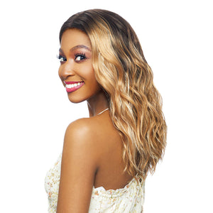 Vanessa Top Super Middle Lace Part Swiss Silk Lace Front Wig - TOPS M EKON