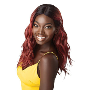 Outre The Daily Wig Collection Premium Synthetic Lace Part Full Wig - FAYME