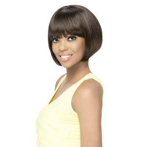 Vivica A Fox 100% Brazilian Natural Remi Human Hair Full Wig - FRANCES