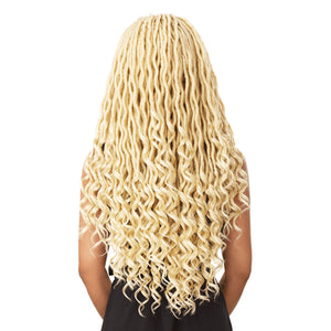 Sensationnel Cloud9 4X4 Multi Parting Swiss Lace Braid Wig - GODDESS LOCS