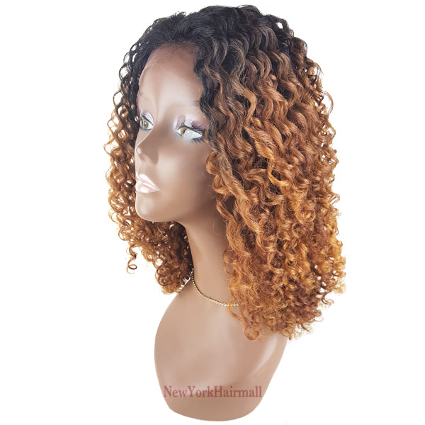 Signature Looks Human Hair Blend Lace Front Wig - HH EMOTION