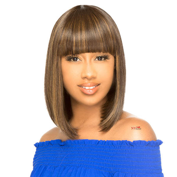 The Wig Brazilian Human Hair Blend Full Wig - HH COCO