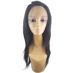 Lord & Cliff GLD 100% Virgin Remy Human Hair 360 Full Hand - tied Lace Wig - STRAIGHT