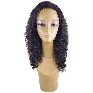 Lord & Cliff BLK 100% Virgin Remy Human Hair Lace Front Wig - BOHEMIAN 20""