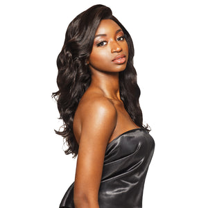 Outre My Tresses Black Label 100% Unprocessed Human All Round Lace Wig - NATURAL LOOSE BODY