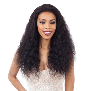 Naked Nature Brazilian Natural 100% Human Hair Wet & Wavy Lace Front Wig - LOOSE DEEP