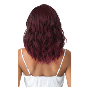 Outre Quick Weave Synthetic Hair Half Wig - LUCIA