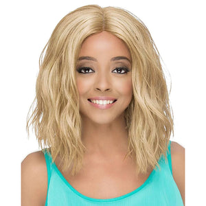 Vivica A Fox Pure Stretch Cap Invisible Lace Part Full Wig - MADONNA