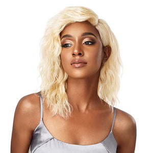Outre My Tresses Platinum Label 100% Virgin Hair 360 Lace Front Wig - NATURAL WAVE 14""