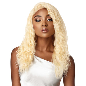 Outre My Tresses Platinum Label 100% Virgin Hair 360 Lace Front Wig - NATURAL WAVE 18""