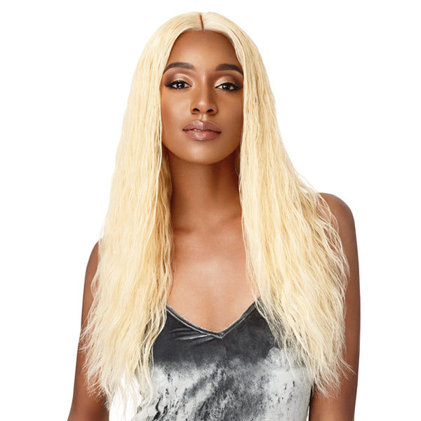 Outre My Tresses Platinum Label 100% Virgin Hair 360 Lace Front Wig - NATURAL WAVE 24""