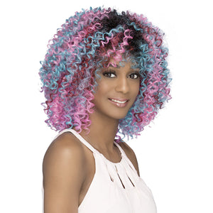 Vivica A Fox Pure Stretch Cap Synthetic Full Wig - PAPAYA