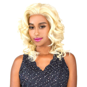 R&B Collection Ruman and Human Hair Blend Lace Front Wig - RL CALI