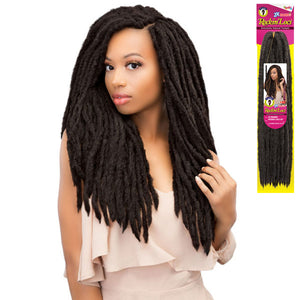 Janet Collection Crochet Braid - 2X MAMBO ROCKIN LOCS 20""