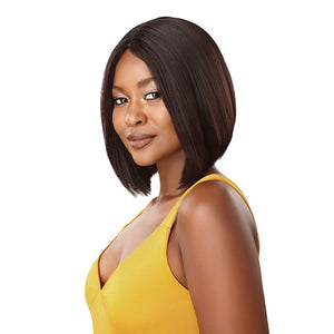 Outre The Daily Wig 100% Unprocessed Human Hair Lace Part Full Wig - STRAIGHT BOB