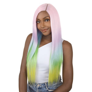 "It's a Wig Unicorn Color 5"" Deep Lace Part Full Wig - UNICORN STRAIGHT"