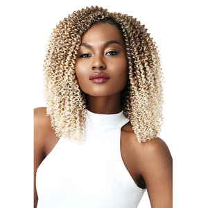 Outre X-Pression Curlette 4X Crochet Braiding Hair - TWIST ROD SET 10""