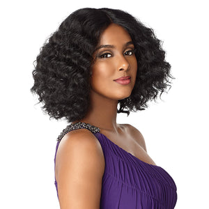Sensationnel Empress Hand-Tied Natural Center Part Lace Front Wig - TRACEE