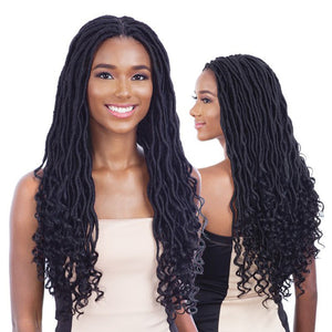 Free Tress Equal Braided Lace Front Wig - GORGEOUS LOC