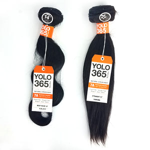 Sensual 7A YOLO 365 Bundles Hair - STRAIGHT