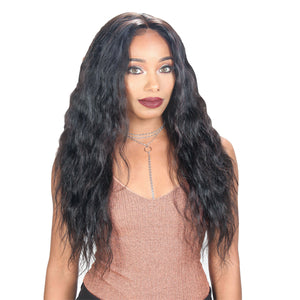 "Zury Hollywood Unprocessed Hair Custom 360 Whole Lace Wet & Wavy Wig 26"" - LOOSE WAVE"