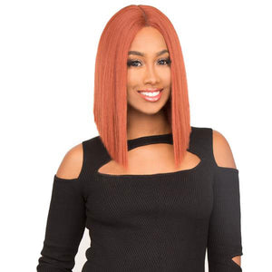 The Wig Brazilian Human Hair Blend Lace Front Wig - LH - VOVO