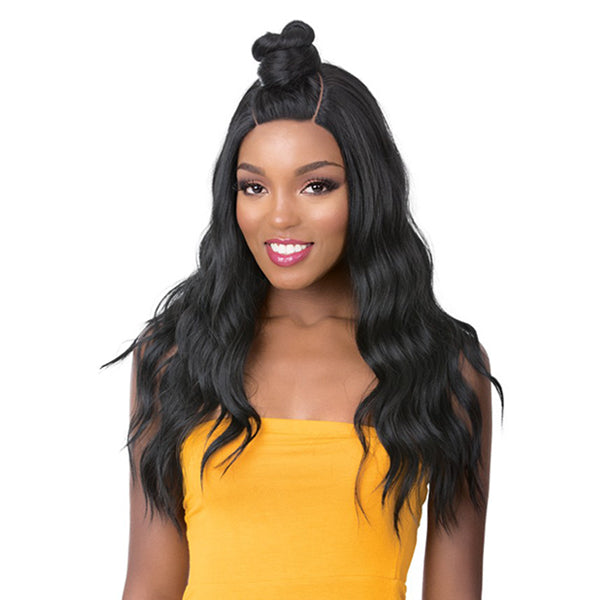 It S A Wig Synthetic Vixen Hand Tied U Part Lace Front Wig