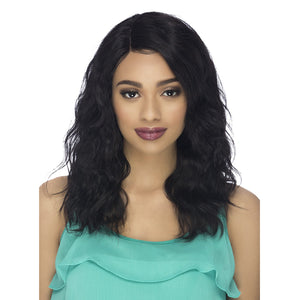 Vivica A Fox 100% Natural Brazilian Wet & Wavy Swiss Lace Front Wig - WW LOUIS