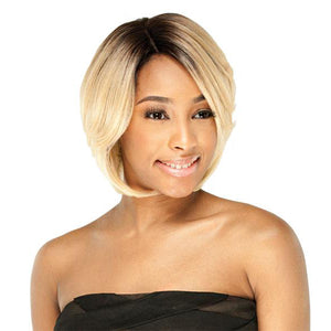 Freetress Lace Front Deep Invisible Part Wig - Ashly