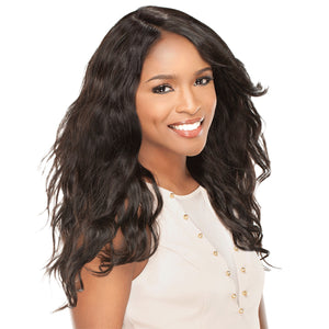 Sensationnel Brazilian Remi Bare & Natural L Part Lace Front Wig - Natural Wavy