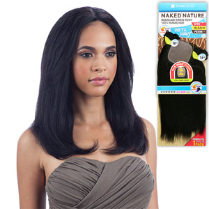 Naked Nature 100% Unprocessed Virgin Remi Brazilian Hair Wet & Wavy - BEACH CURL 7PCS