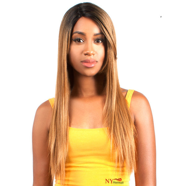 The Wig Human Hair Blend Lace Front Wig - LH BEYONCE